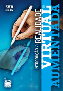 """Capa do livro """"Introdução a Realidade Virtual e Aumentada"""""""