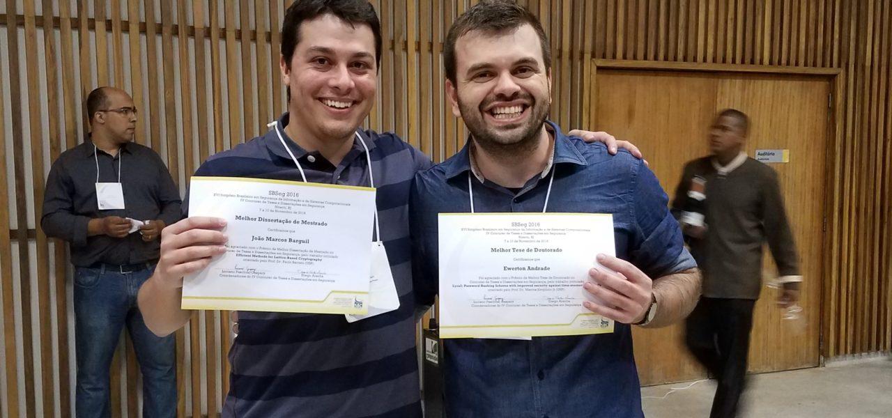 Aluno do PCS é vencedor do SBSeg 16 com melhor dissertação de mestrado