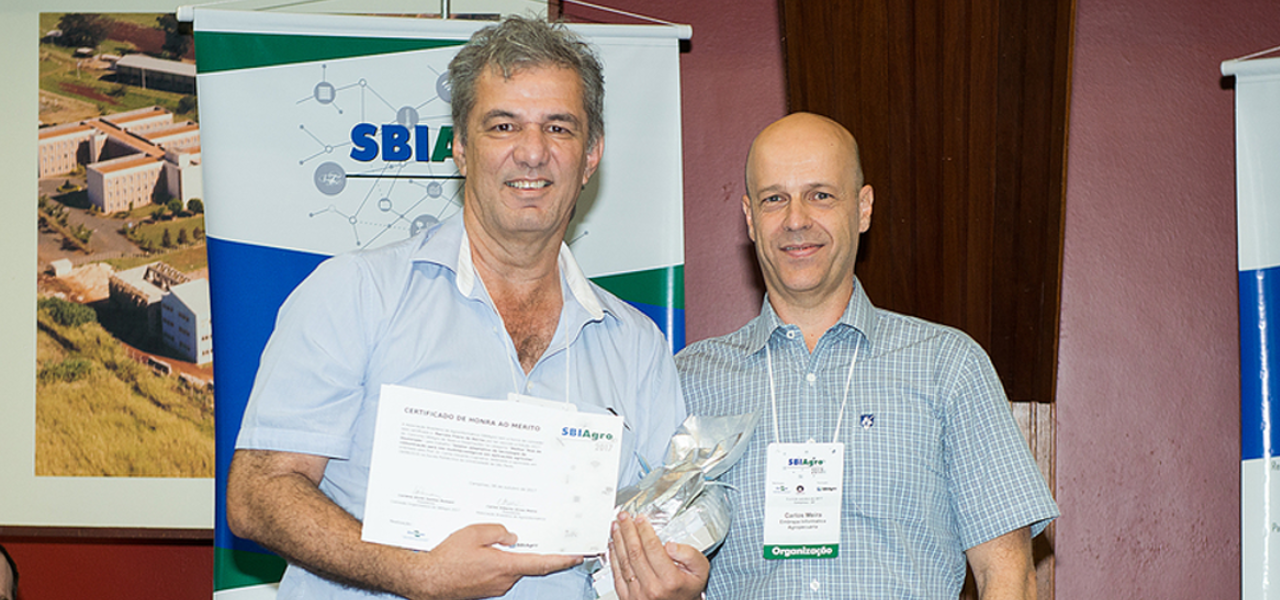 Associação Brasileira de Agroinformática premia tese da Poli
