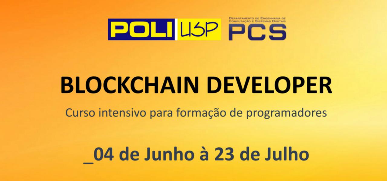 Blockchain developer: Inscrições abertas para curso intensivo