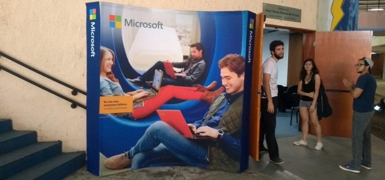 Palestra da Microsoft no PCS